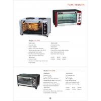 Wholesale Toaster oven in home appliance Kitchen convection Vertical  toaster oven GK-T0-34G from china suppliers