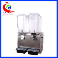 Quality 18L*2 Cold Drink Dispenser Cold Beverage Dispenser 470*280*680mm for sale