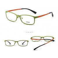 Wholesale Optical Lightweight Plastic Glasses Frames / Flex Light Weight Eye Frames from china suppliers