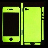 Wholesale Glow in Dark Skins for Apple's iPhone 4, Made of Innovative Material of the Highest Durability from china suppliers