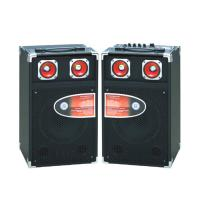 Wholesale Single Pro Audio Portable Bluetooth PA Speakers With Led Tweeter / SD Card from china suppliers