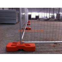 Wholesale Blow molding temporary fencing base HDPE5502 available any color customized any hole from china suppliers