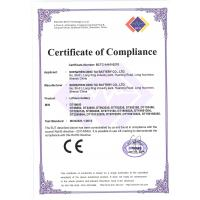 Ding Tai Battery Co.,Ltd Certifications