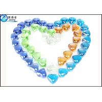 Wholesale Crystal Heart Shape Glass Fish Aquarium Gravel House Fish Tank Decoration Stone from china suppliers