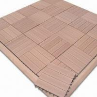 Buy cheap WPC Decking Boards, Used for Outdoor Use, CE and ASTM Certified, Measures 150x25mm from wholesalers