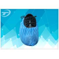 Wholesale Blue Anti - Skid PP Non Woven Sterile Shoe Covers Disposable / Comfortable from china suppliers