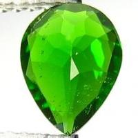 Wholesale Pear 65carats Chrome Diopside Gemstone Green for Diopside Rings from china suppliers
