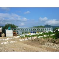 Wholesale Easy Installation Steel Bailey Bridge Single Lane HD200 Type Galvanized Modular Galvanized Bridge from china suppliers