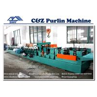 Wholesale Hydraulic Cutting 17 Station Steel C Z Purlin Roll Forming Machine from china suppliers