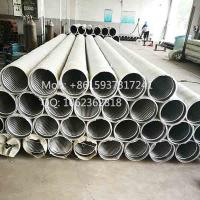 "Wholesale 8 5/8"" Austenitic Stainless Steel 304 continuous slot pipe based water well screens from china suppliers"