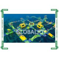 Wholesale SGS / EN71 Inflatable floating water park For Thirty Five People from china suppliers