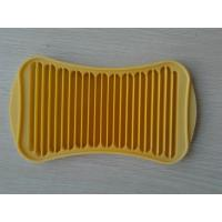 Wholesale Yellow Nontoxic Silicone Chocolate Mould With Stick Shaped And 23 * 13 * 1CM from china suppliers