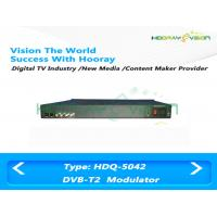 Wholesale MER 50dB CATV Channel Modulator / Digital DPD IP ASI Modulator DVB UHF 470~860Mhz from china suppliers