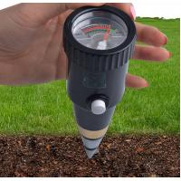 Buy cheap hot sales handheld DIgital pointer display soil moisture PH meter PH range 3~8ph, moister range 10~80%RH from wholesalers