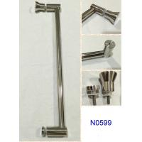 Wholesale SUS304 Polished Chrome shower handle / glass door handle N0599 from china suppliers