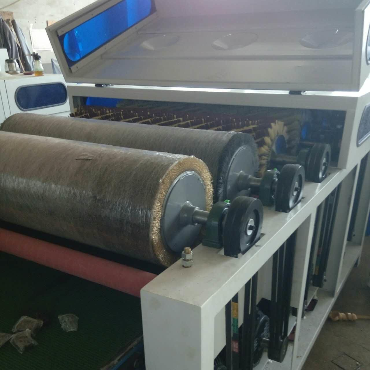 Wholesale Wire brush roller dupont brush roller and sandpaper rollers polishing machine for wood floor from china suppliers