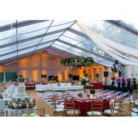 Wholesale Clear PVC Fabric Top Aluminum Alloy Outdoor Luxury Wedding Tents 20x30M from china suppliers