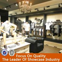 Wholesale commercial retail shop furniture garment display/garment shop interior design from china suppliers