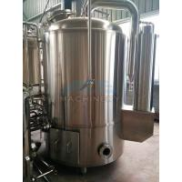 Wholesale 1000L Red Copper Shell Inner Stainless Steel Three Vessels Brewhouse from china suppliers