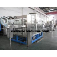 Wholesale CGF18-18-6 Bottled water bottling machine filling machine washer filler capper from china suppliers