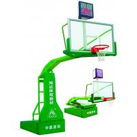 Wholesale Sport Electronic Hydraulic Basketball Stand , basketball goal stand With Timer Reprovision from china suppliers