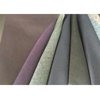 Quality Multi Function Double Faced Wool Fabric Anti - Static For Overcoat for sale