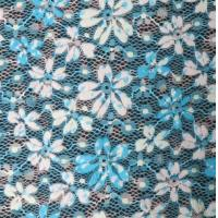 Wholesale spandex & polyester Digital Printed Fabric , Print Stripe Lace Normal Dyeing from china suppliers