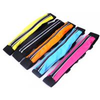Wholesale Outdoor Slim Close Fitting Travel Sport Running Waist Belt Pocket purse Pouch Sports bag from china suppliers