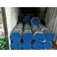 Wholesale 4 Inch 6mm hot dip galvanized erw steel tube structure building materials from china suppliers