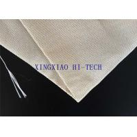 Wholesale SGS Certificated Thermal Insulation Fireproof Fiberglass Fabric Steel Wire Reinforced from china suppliers