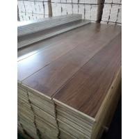 Buy cheap Wide Plank Black Walnut Engineered Flooring from wholesalers