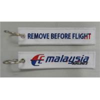 Wholesale Malaysia Airlines Embroidered Tag Keychain Keyring from china suppliers