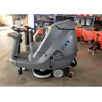 Wholesale Driving Type Battery Powered Floor Scrubber High Efficiency 5200 M2 Per Hour from china suppliers