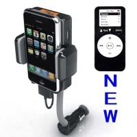 Wholesale Dc 12v, Vehicle Power Black Fm Transmitter + Car Charger For Iphone 3gs 3g Ipod Touch from china suppliers