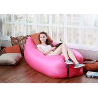 Wholesale New Fast Inflatable Lamzac Hangout, Hot Outdoor Waterproof Nylon Lamzac Hangout Sleeping from china suppliers
