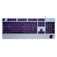 Wholesale 104 Keys Anti Ghosting Gaming Keyboard , Red Blue Purple Backlit Gaming Keyboard from china suppliers