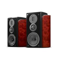 Wholesale Classical Home Stereo Speakers Hi Fi Passive Natural Wood Vented Box Speakers from china suppliers