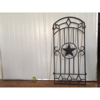 Wholesale Decorative Iron And Glass Doors For Entry Doors 15.5*39.37 / Custom Size from china suppliers