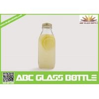 Wholesale Wholesale eco-friendly clear juice glass bottle bulk from china suppliers