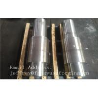 Wholesale Open Die Forged Alloy Steel Carbon Steel Shaft / Forging Products from china suppliers