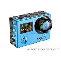 Wholesale Ultra 4k Sports Action Camera Waterproof With Fish Eye , Action Camcorder Hd 720p from china suppliers
