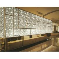 Quality Tinted Decorative Laminated Glass Panels / Partition For Glass Curtain Walls for sale