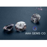 Wholesale Necklaces 5mm AAA GEMS Sythetic Stones Colorless Moissanite With Round Shape from china suppliers
