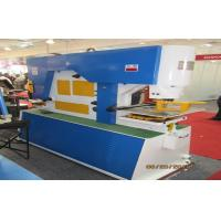 Wholesale Mechanical Ironworker machine , Hydraulic punching and shearing machine for steel plates from china suppliers