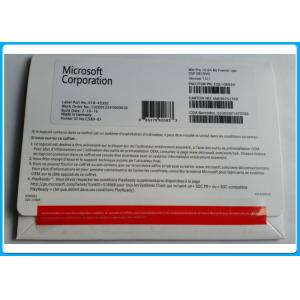 Wholesale Microsoft Windows 10 Pro Software 32bit X 64bit DVD OEM pack / OEM key activation online from china suppliers