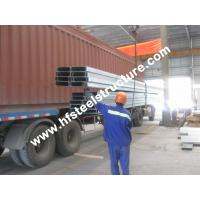 Wholesale Light Weight Z / C Purlin Steel Building Kits With Thickness 1.8 - 3.0mm from china suppliers