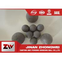 Wholesale Customized Forged Steel Grinding Ball Mining Water Or Oil Quenching from china suppliers