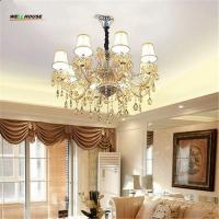 Wholesale Crystal chandelier lamp Fashion Room chandelier modern crystal light candle for home lighting bedroom living room light from china suppliers