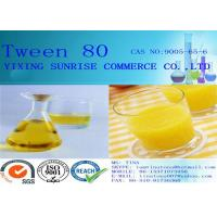 Wholesale Chemistry Intermediate Tween 80 Emulsifier Yellow Wax CAS 9005-67-8 from china suppliers