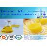 Buy cheap Chemistry Intermediate Tween 80 Emulsifier Yellow Wax CAS 9005-67-8 from wholesalers